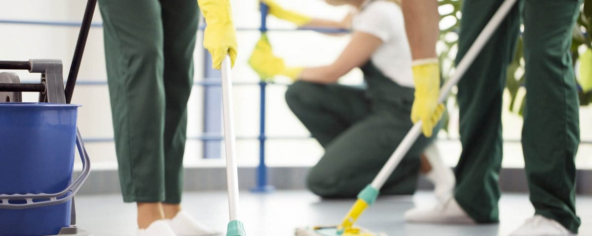 Serviços de Limpeza com profissionais qualificados